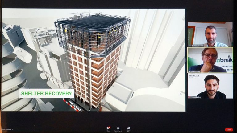 Quebec-based engineering firm Upbrella Construction will be using its crane-free sheltered construction system to help build a 12-storey luxury residence in the heart of Monaco, those attending a webinar were told recently.