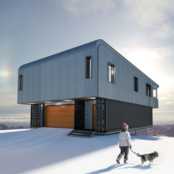 Alex Cook's Iqaluit-based company ArchTech is in partnership with Toronto-based Wonder Inc., an interdisciplinary firm that has built a reputation in North America and overseas for homes made from shipping containers. An objective is to cut erection time in the North where a typical building season runs from July to late September/early October.