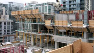 Masonry preservation, concrete pours critical to King Blue condo project