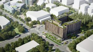 Pomerleau targets Passive House standard on U of T job