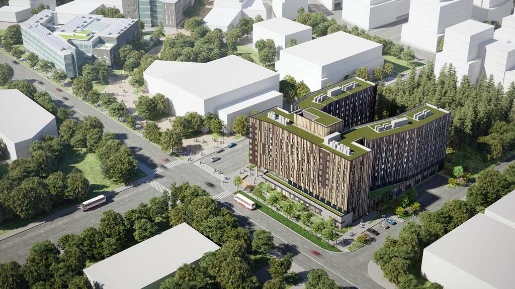 Pomerleau targets Passive House standard on U of T job