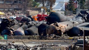 Lac Megantic marks seventh anniversary of 2013 rail disaster with memorial site