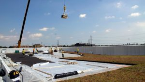 Toronto bus garage largest green roof in a growing trend