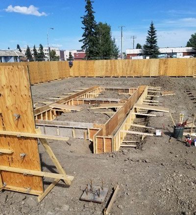Shovels for the new RCMP detachment building in Fort St. John, B.C. went into the ground in June. The structure is expected to take a year-and-a-half to build with occupancy set for January 2022.