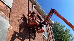 Study quantifies carbon savings of reclaimed brick