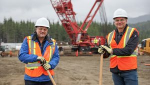 GasLink team breaks ground on Kitimat metering station