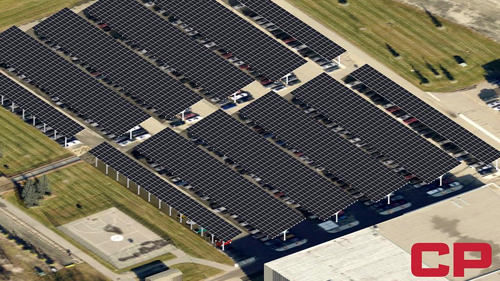 CP goes solar at Calgary headquarters