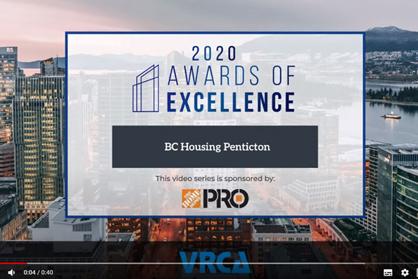 Each nominee for the 2020 VRCA Awards of Excellence is highlighted in a 90-second video.