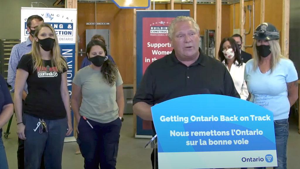 Training providers applaud Ontario government's $37 million investment