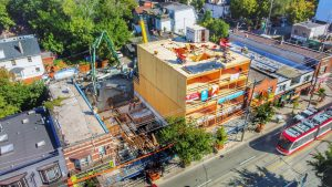 Ontario's first six-storey mass timber residential rental build could be a trendsetter
