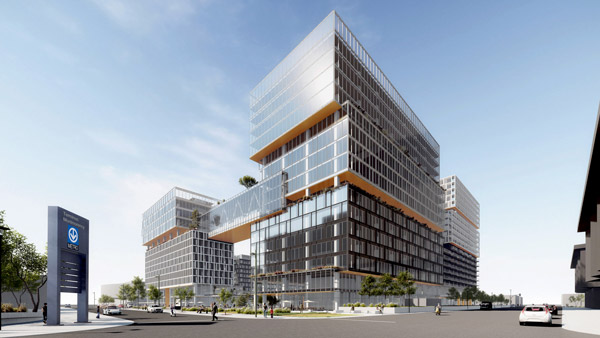 Espace Montmorency is a $450-million, mixed-use urban development that will consist of 10 buildings in Laval, Que.