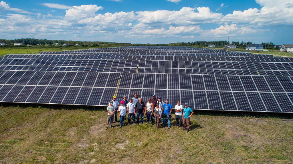 Manitoba's Fisher River First Nation completes major solar project build