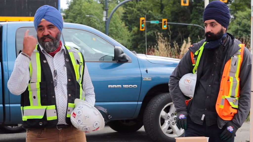COCA video reiterates hard hat safety, demonstrates Sikhs can still wear the PPE