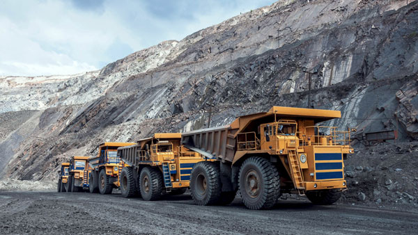"""Currently in the mining industry, miners sit in cockpits and remotely operate machines. According to Paul Challoner, VP of network production solutions at Ericsson, 5G technology """"gives an order of speed, of gigabytes per second that 4G can't touch and without latency issues so you can deal with drones, autonomous vehicles, cranes."""""""