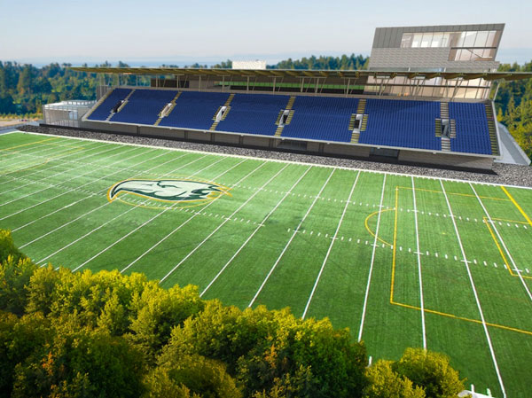 Planning work has started on the replacement of the 3,200-seat Thunderbird Stadium with a new structure at the University of British Columbia. The new stadium is proposed for a site at the intersection of the northwest corner of West 16th Avenue and East Mall. The plan calls for 22 acres of housing, consisting of mid-rise buildings and towers, to be built at the site at the present stadium.