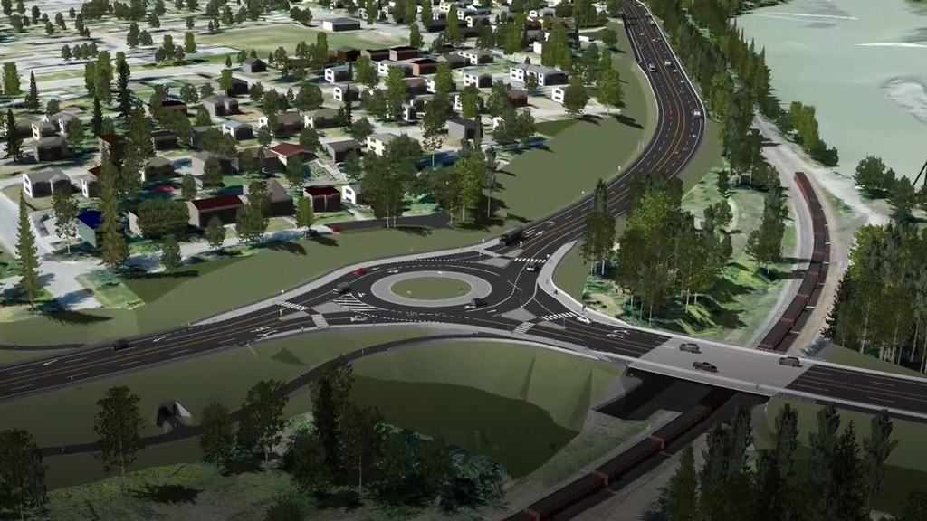 Preliminary design for Quesnel road improvements complete