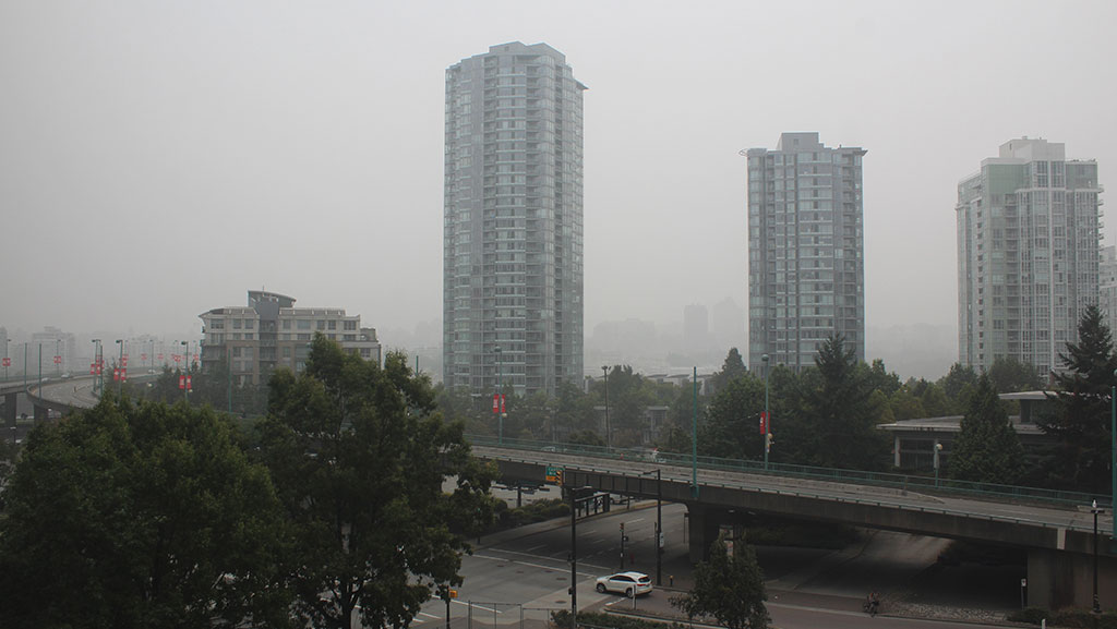 Wildfire smoke an added health challenge for construction workers